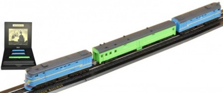 ATLAS 1:43 - TRANS-SIBERIAN RAILWAY - Z GAUGE - GREAT TRAINS OF THE WORLD