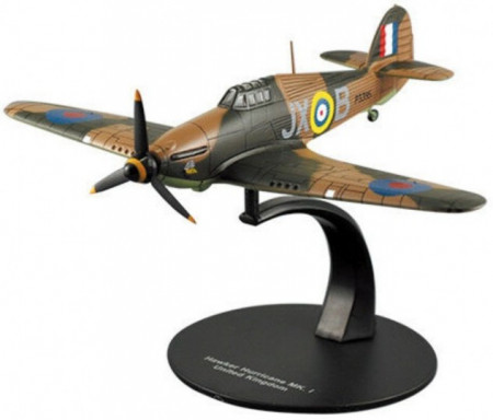 ATLAS 1:72 - HAWKER HURRICANE MK. I UNITED KINGDOM