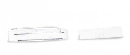 HERPA 1:87 - ACCESSORIES PANELS VOLVO WITHOUT LOGO, GRILL WITH LOGO, WHITE CONTENT: (4 PIECES)