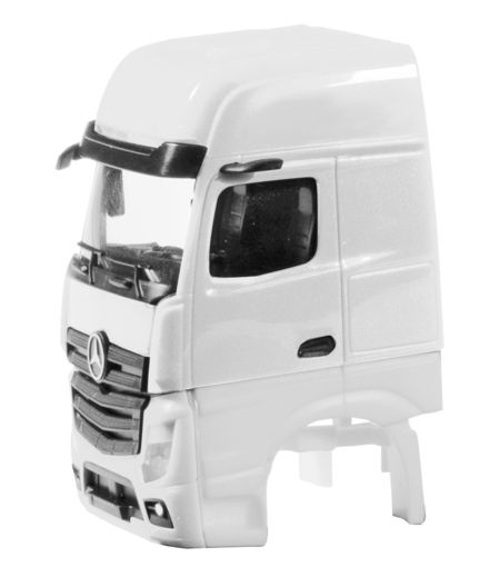 HERPA 1:87 - DRIVER'S CAB MERCEDES-BENZ ACTROS GIGASPACE 2018 WITHOUT SIDE SKIRTING CONTENT: 2 PCS.