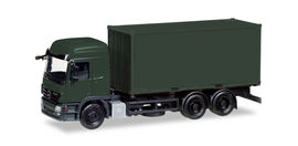 """HERPA 1:87 - Minikit: Military: Mercedes-Benz Actros L interchangable truck with container, """"Bundeswehr"""""""