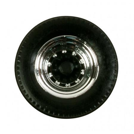 HERPA 1:87 - Tires for trailer (chromium / black, 12 sets)