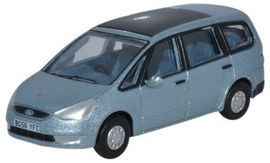 OXFORD 1:76 (00) - Ford Galaxy Ice Blue