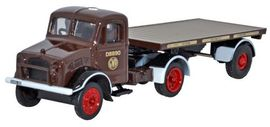 OXFORD 1:76 (00) - GWR Bedford OX Flatbed Trailer