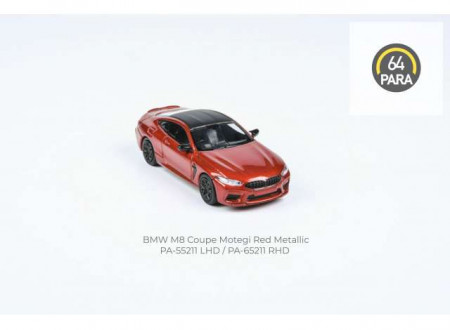 PARA64 1:64 - BMW M8 COUPE *LEFT HAND DRIVE*, RED