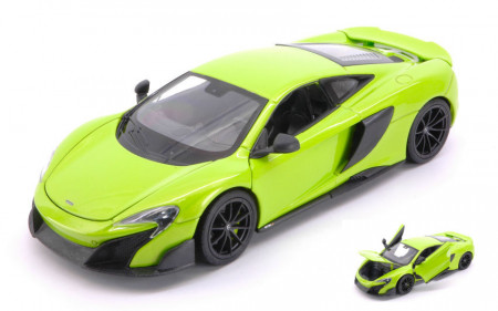 WELLY 1:24 - MC LAREN 675 LT 2017 LIGHT GREEN