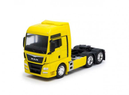 WELLY 1:32 - MAN TGX (6X4), YELLOW