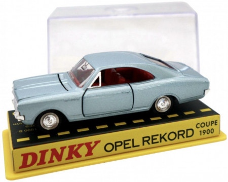 DINKY TOYS 1:43 - OPEL REKORD COUPE 1900, SILVER