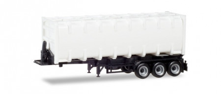 HERPA 1:87 - 30ft. container trailer, Chassis black