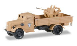 HERPA 1:87 - Opel Blitz LKW armored with 20mm cannon
