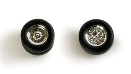HERPA 1:87 - Set of wheels for rigid tractor, chromium plated, new generation