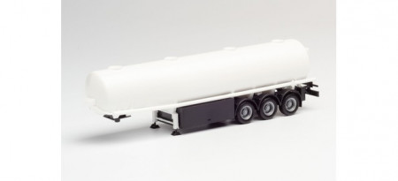 HERPA 1:87 - Tank trailer undecorated, white