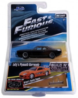 JADA 1:55 - FAST AND FURIOUS WAVE 2 - LETTY'S PLYMOUTH BARRACUDA