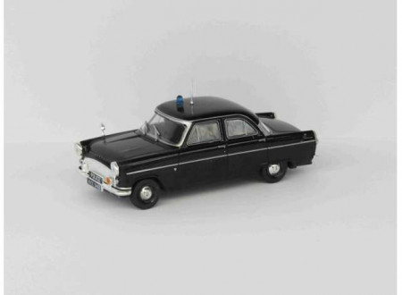MAGAZINE MODELS 1:43 - FORD CONSUL MK II *POLICE CARS OF THE WORLD SERIES*, BLACK