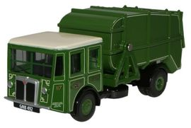 OXFORD 1:76 (00) - Manchester Corp Shelvoke & Drewry Dustcart