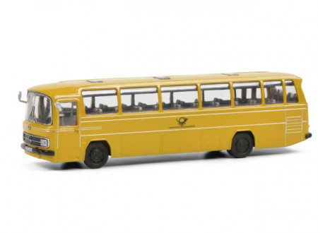SCHUCO 1:87 - MERCEDES BENZ O302 *DEUTSCHE POST*, YELLOW