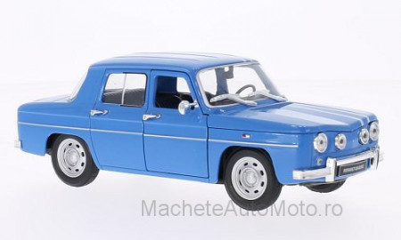 WELLY 1:24 - RENAULT R8 GORDINI, LIGHT BLUE/WHITE