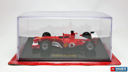 ATLAS 1:43 - FERRARI F2002 F1 MICHAEL SCHUMACHER WORLD CHAMPION