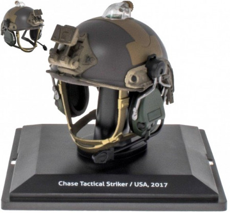 ATLAS 1:5 - HISTORICAL MILITARY HELMETS CHASE TACTICAL STRIK