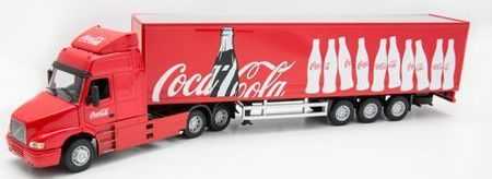 Cararama 1:50 - Volvo NH12 Fridge - Coca Cola