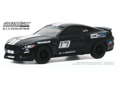 GREENLIGHT 1:64 - FORD MUSTANG SHELBY GT350 2016 FORD PERFORMANCE RACING SCHOOL GT350 TRACK ATTACK #17, SHADO