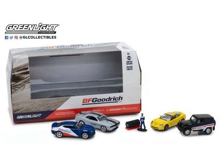 GREENLIGHT 1:64 - MULTI-CAR DIORAMAS 'BFGOODRICH' TIRE SHOP