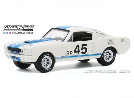 GREENLIGHT 1:64 - SHELBY GT350R 1965 #45 MUSTANG GT350 55TH ANNIVERSARY *ANNIVERSARY COLLECTION SERIES 11*, WHI