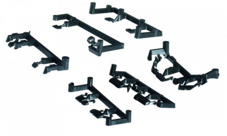 HERPA 1:87 - Accessory Truck mirror Volvo 2014 / Mercedes-Benz Actros 2011 / Scania 2013 (5 sets for each vehicle type)