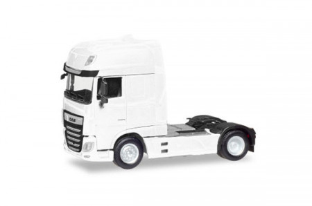 HERPA 1:87 - DAF XF Euro 6 SSC rigid tractor facelift, white