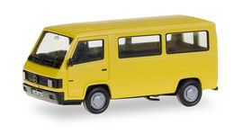 """HERPA 1:87 - Mercedes-Benz 100 D Bus """"Herpa-H-Edition"""" (with printed license plates)"""