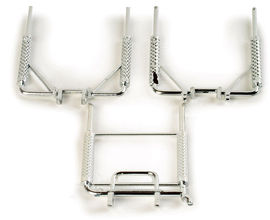 HERPA 1:87 - Set highpipes (3x2 pieces)