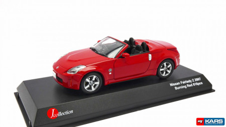 KYOSHO 1:43 - NISSAN FAIRLADY Z OPEN 2007, RED