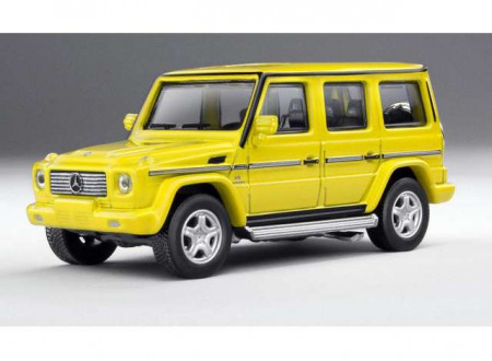 KYOSHO 1:64 - MERCEDES BENZ AMG G55, YELLOW