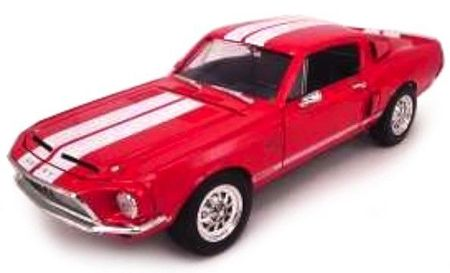 LUCKY DIECAST 1:18 - SHELBY GT 500 KR 1968 RED