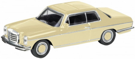 SCHUCO 1:87 - MERCEDES BENZ 8 COUPE, CREAM