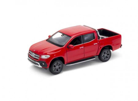 WELLY 1:24 - MERCEDES-BENZ X-CLASS 2018,RED