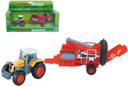 DONBFUL 1:72 - TRACTOR & VEGETABLE SORTER