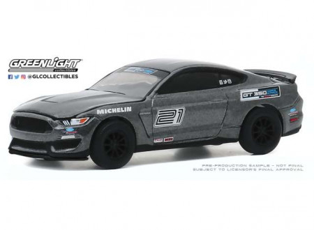 GREENLIGHT 1:64 - FORD MUSTANG SHELBY GT350 2016 FORD PERFORMANCE RACING SCHOOL GT350 TRACK ATTACK #21, MAGNE