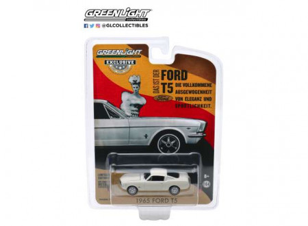 GREENLIGHT 1:64 - FORD T5 1965, WHITE