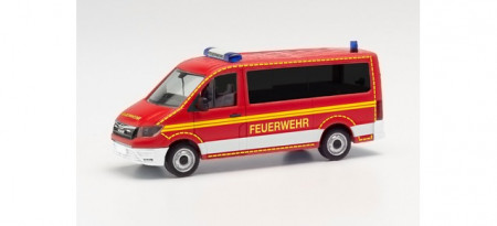 HERPA 1:87 - MAN TGE Bus low roof crew transport vehicle fire department