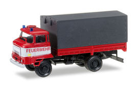 HERPA MILITARY 1:87 - IFA L 60 CANVAS TRAILER 'FIRE DEPARTMENT NVA'