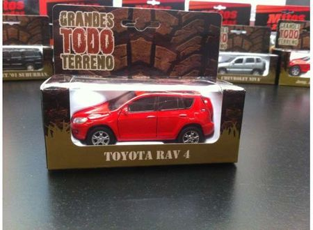 MAGAZINE MODELS 1:36 - TOYOTA RAV4, RED