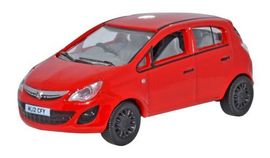 OXFORD 1:76 (00) - Vauxhall Corsa Red