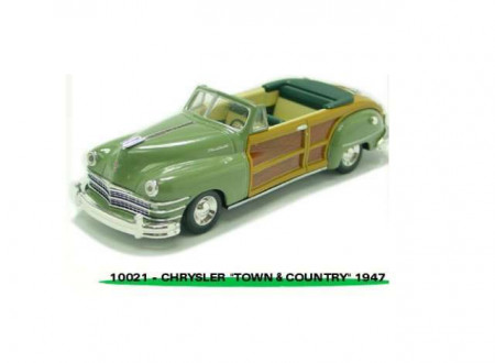 VITESSE 1:43 - CHRYSLER TOWN AND COUNTRY CONVERTIBLE 1947, HEATHER GREEN