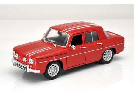 WELLY 1:24 - RENAULT 8 GORDINI 1964, RED/WHITE