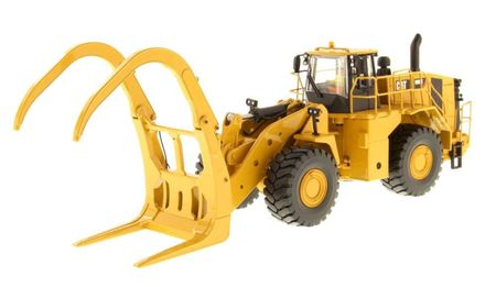 DIECAST MASTERS 1:50 - Cat 988K Wheel Loader with Grapple