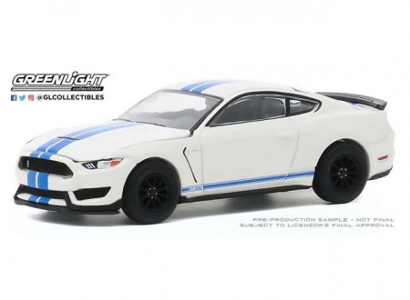 GREENLIGHT 1:64 - FORD SHELBY GT350 2020 HERITAGE EDITION MUSTANG GT350 55TH ANNIVERSARY *ANNIVERSARY COLLECTION