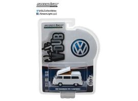 GREENLIGHT 1:64 - VOLKSWAGEN TYPE 2 CAMPMOBILE WITH HURST BUMPER 1968, 'CLUB VEE-DUB SERIES 5'