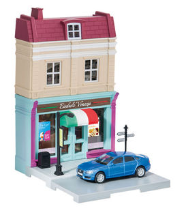 HERPA CITY 1:64 - ICE CREAM PARLOR WITH AUDI A5 SPORTBACK