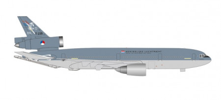 """HERPA (WINGS) 1:500 - Royal Netherlands Air Force McDonnell Douglas KDC-10 Extender - 334 Squadron, Eindhoven Air Base """"75 Years"""" – T-235"""